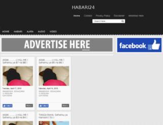 habari24.com screenshot