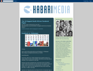 habarimedia.blogspot.com screenshot