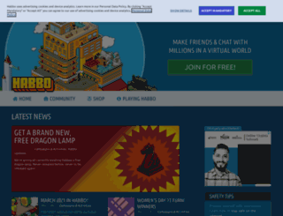 habbo.com.my screenshot