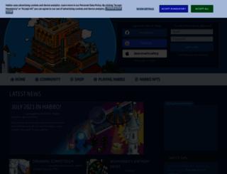 habbo.com screenshot