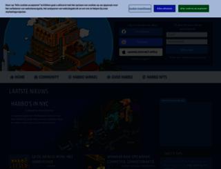 habbo.nl screenshot
