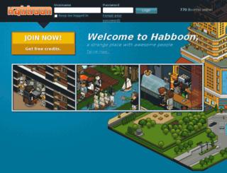 habboon.com screenshot