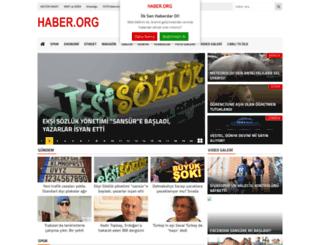 haber.org screenshot