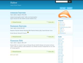 haber.sohbetinadi.com screenshot