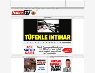 haber11.net screenshot