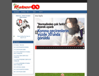 haber14.com screenshot