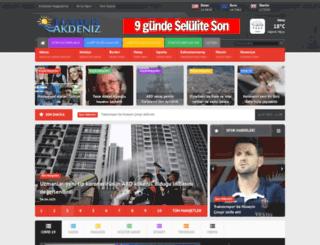 haberakdeniz.net screenshot