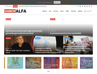 haberalfa.com screenshot