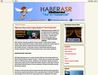 haberasr.blogspot.com screenshot