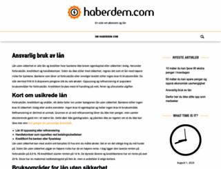 haberdem.com screenshot