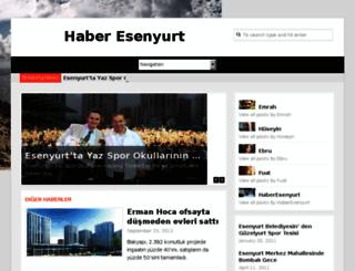 haberesenyurt.com screenshot
