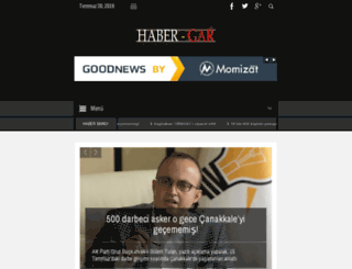 habergar.com screenshot