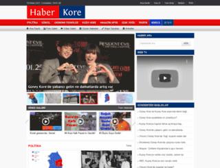 haberkore.com screenshot