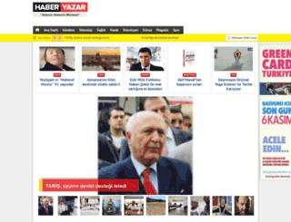 haberyazar.com screenshot
