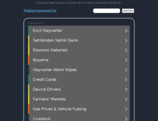 haberzamani.tv screenshot