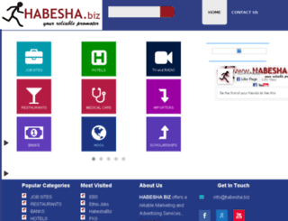 habesha.biz screenshot