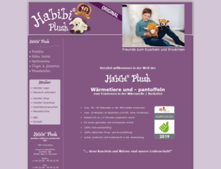 habibi-plush.de screenshot