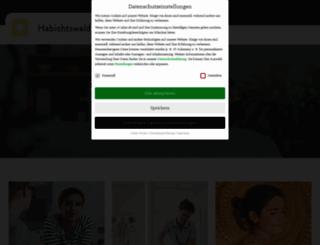 habichtswaldklinik.de screenshot