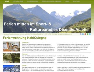 habiculegna.ch screenshot