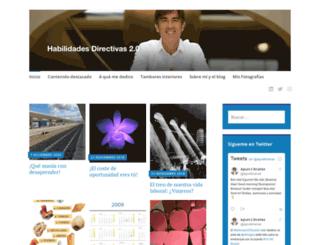 habilidadesdirectivas20.wordpress.com screenshot