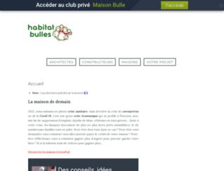 habitat-bulles.com screenshot