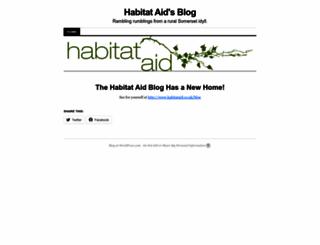 habitataid.wordpress.com screenshot