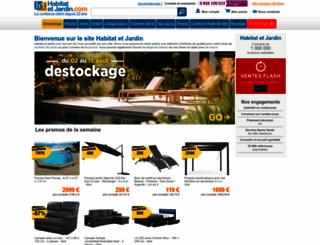 habitatetjardin.com screenshot