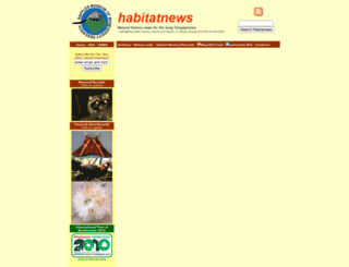habitatnews.nus.edu.sg screenshot