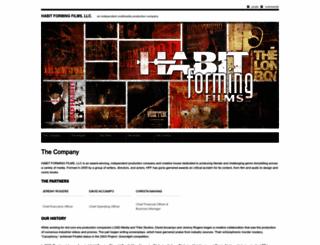habitformingfilms.com screenshot