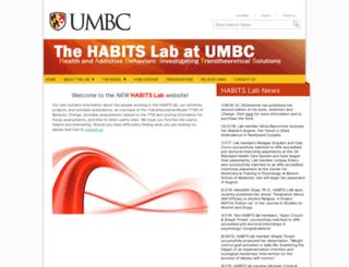 habitslab.umbc.edu screenshot