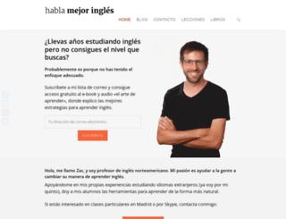 hablamejoringles.com screenshot