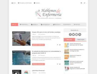 hablemosdeenfermeria.blogspot.com.es screenshot