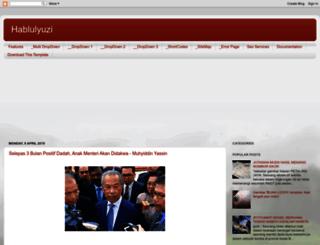hablulyuzi.blogspot.com screenshot