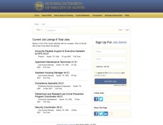 hacanet.applicantpro.com screenshot