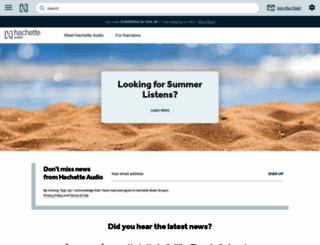 hachetteaudio.com screenshot