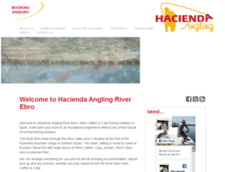 hacienda-angling.com screenshot