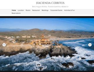 haciendacerritos.com screenshot