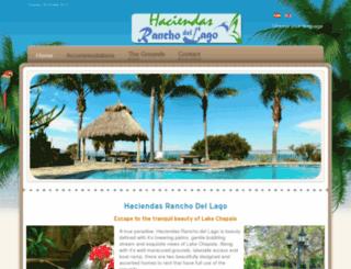 haciendas-ranchodellago.com screenshot