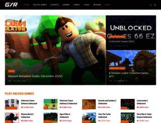 hackedarcadegames.com screenshot