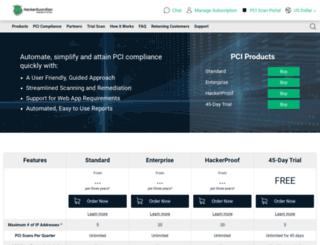 hackerguardian.com screenshot