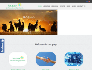 hacsa.org.au screenshot
