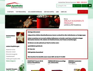 had-apotheke.de screenshot