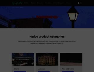 hadco.com screenshot