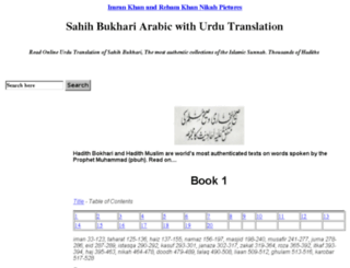 hadees-in-urdu-bukhari.itjin.com screenshot
