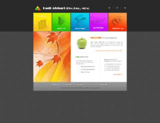 hadiafshari.com screenshot