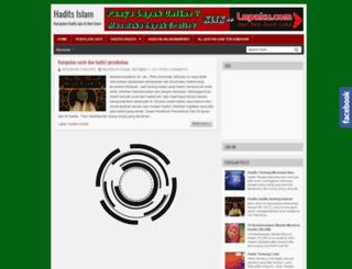 hadis-islam.blogspot.com screenshot