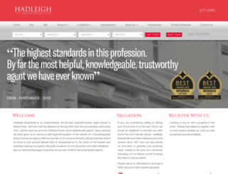 hadleigh.co.uk screenshot