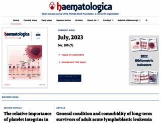 haematologica.org screenshot