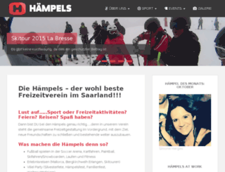 haempels-ev.de screenshot