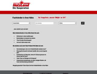 haendler.holzland.de screenshot